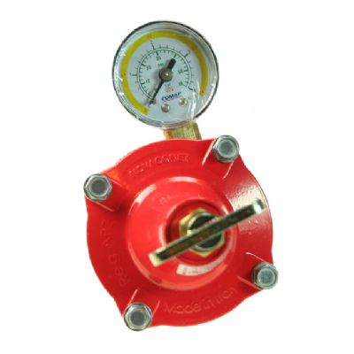 Reduceringsventil 0,5-3 bar 1/4 inv x 2, 12-18 kg/h manometer