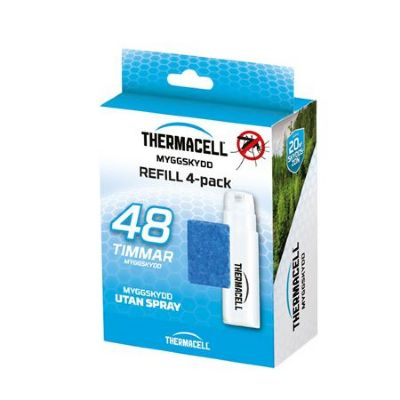 Refill 4-pack till ThermaCELL Myggskydd